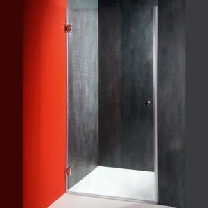 душевые двери 800 мм, прозрачное стекло