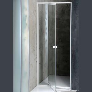 душевые двери навесной 740-820x1850 мм, прозрачное стекло