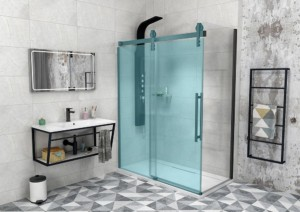 боковая стенка 1000 мм, прозрачное стекло