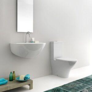 Напольный унитаз Kerasan (Италия) Kombi WC Aquatech